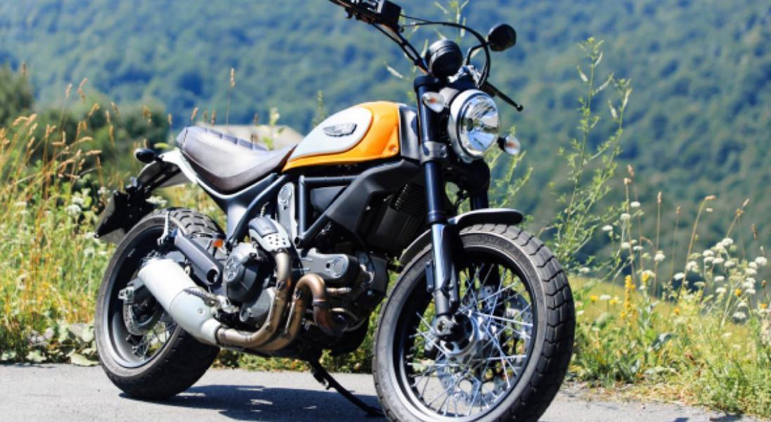 Ducati Scrambler 800 Classic Landofjoy Da Cabutti Motor
