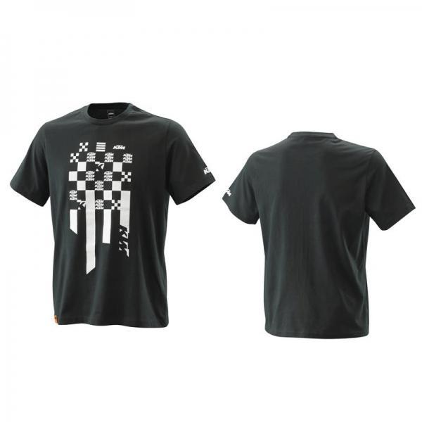 KTM 3PW210016501 RADICAL SQUARE TEE T-Shirt Nera