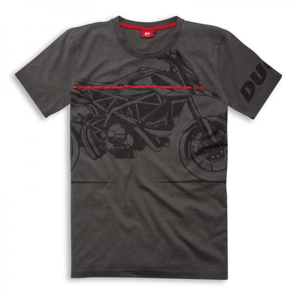 Red Line DUCATI T-shirt uomo - Cabutti Motor