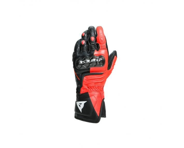 DAINESE 201815925 Guanti strada Carbon 3 Long Gloves red fluo