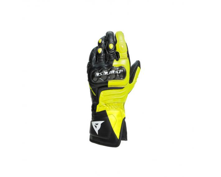DAINESE 201815925 Guanti strada Carbon 3 Long Gloves Yellow fluo